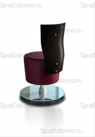 """Стул мастера маникюра """"SUITE STOOL WITH BACKREST"""""""